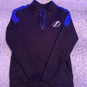 Tampa Bay Lightning Quarter Zip Jacket